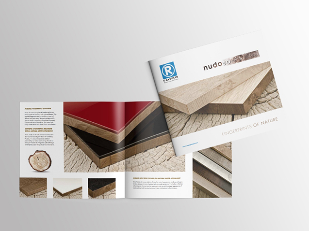Roma / Nudoso - Creative Texts, Brochure and Photography Production