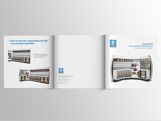 Roma / POS - Creative Texts, Brochure and Photography Production