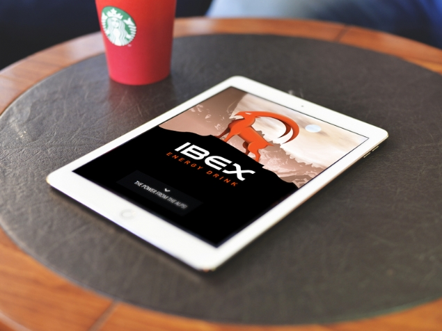 IBEX Energy Drink - Web Design and Programming