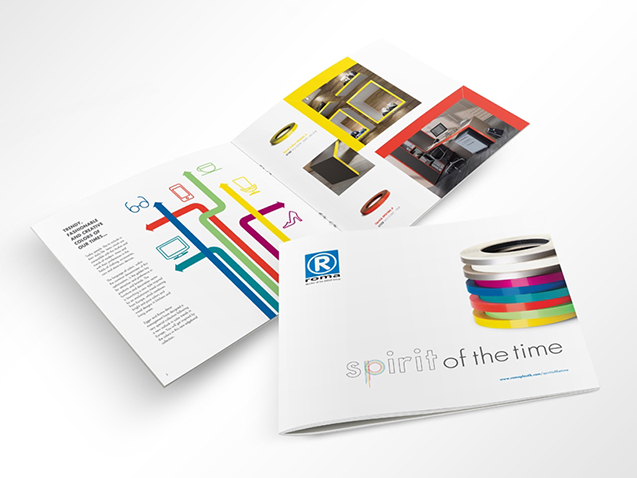 Roma / Spirit of The Time - Creative Texts, Brochure and Photography Production