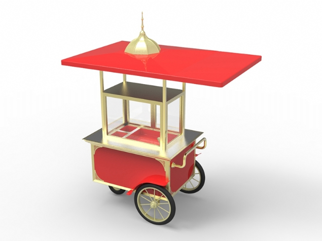 Mobile stand - 3d modelling&rendering