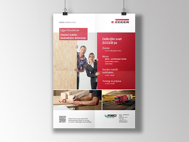 Egger - Graphic Application for Ad Design