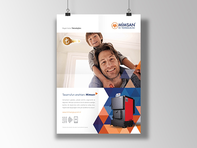 Mimsan Heating Technologies - Ad Concept and Ad Design